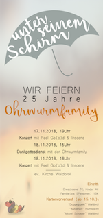 25 Jahre Ohrwumfamily im November 2018